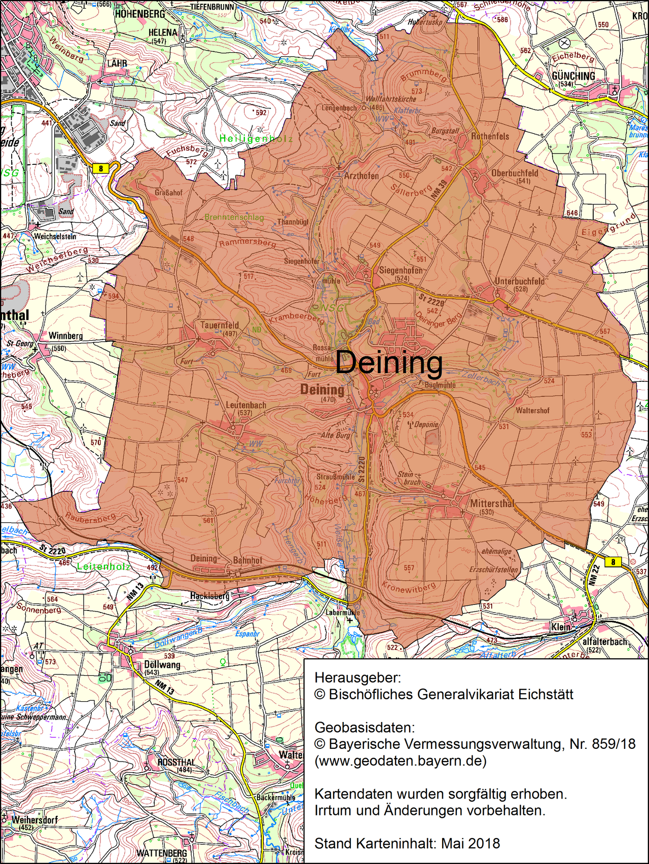 Pfarrei Deining